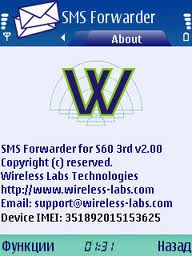 smsfordwarder SMS Forwarder Pro : Aplikasi Penyadap SMS di Nokia s60v3/s60v5