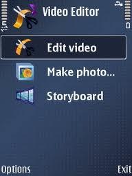 Video Editor : Editor Video di Ponsel Symbian s60v3/s60v5